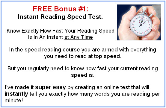 Free Speed Reading Test